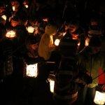 250 Lichter erhellen die Nacht