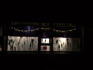 Adventsfenster im Kindergarten Sonnenrain